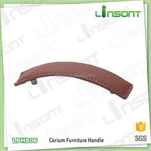 Linsont buy good leather cabinet pulls and knobs harware handles for furniture pull handles