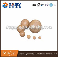 Round Wooden Ball, Wooden Decoration Beads, Natural Wood Beads