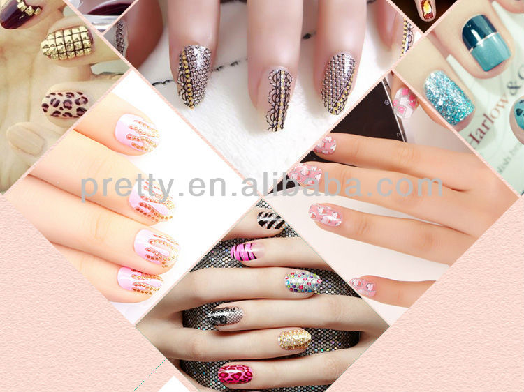 Human Finger Nails For Sell Pretty Woman Brand Fake Nails New Design ...