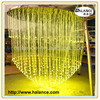 optic fiber chandelier crystal centerpieces with lights,1.5m diameter*3m length