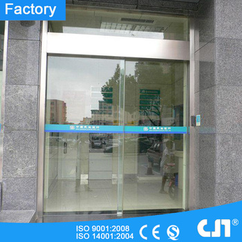 Bank Security Id Card Automatic Glass Sliding Door Buy Frameless