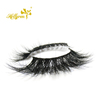 Hollyren 3D volume effect mink fur eyes lashes with custom box packaging
