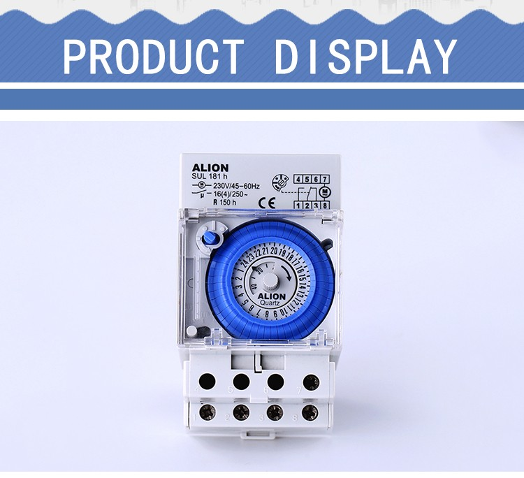 New Design Outdoor Battery Automatic Light Timer For Outdoor Lights