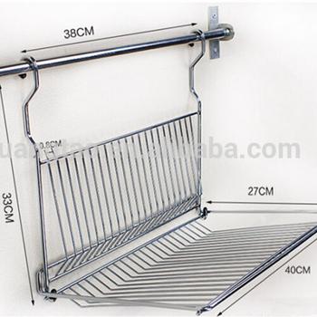 Stainless Steel Kitchen Drying Dish Rack Ss Dish Rak From Guangzhou