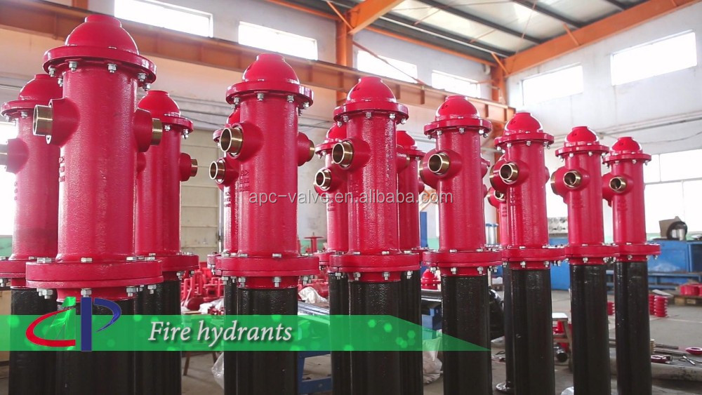 FM UL Approved Dry Barrel Underground Fire fighting Hydrant Mechanical Joint Connection