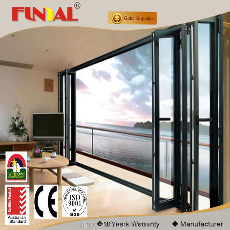 Vidrio de baja emisividad aluminio Rotura de puente térmico puerta ...