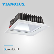 Good Quality Recessed COB 15w rectangular led downlight