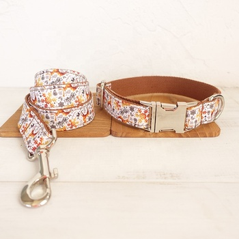 Custom Top Quality High End Beautiful Luxury Dog Collars And Leashes With  Name Plate - Buy Dog Collars And Leashes,Dog Collar With Name Plate,Dog