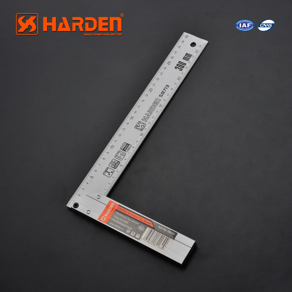 Measuring Tools Professional 300mm Aluminum L-square Try Square Ruler