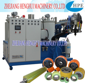 CB series three components Polyurethane Elastomer pouring machine