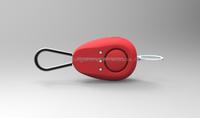 YA-HS018 130dB Personal Safety Alarm Keychain Security Alarm Self Defense Alarm with LED Flashlight