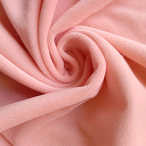 100 polyester material no elastic feature steam velvet fabric with elegant style and smooth handy soft