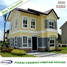 2014 new design fast installation prefab villa/k prefabricated house