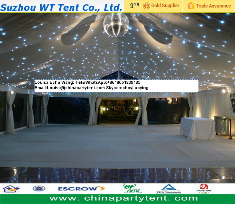 Tente de mariage, outdoor decorative wedding party /catering/ reception/ church marquee tent for events