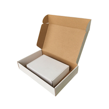 Professional factory <strong>supply</strong> plain white or brown kraft paper flat book packaging mailer <strong>boxes</strong>