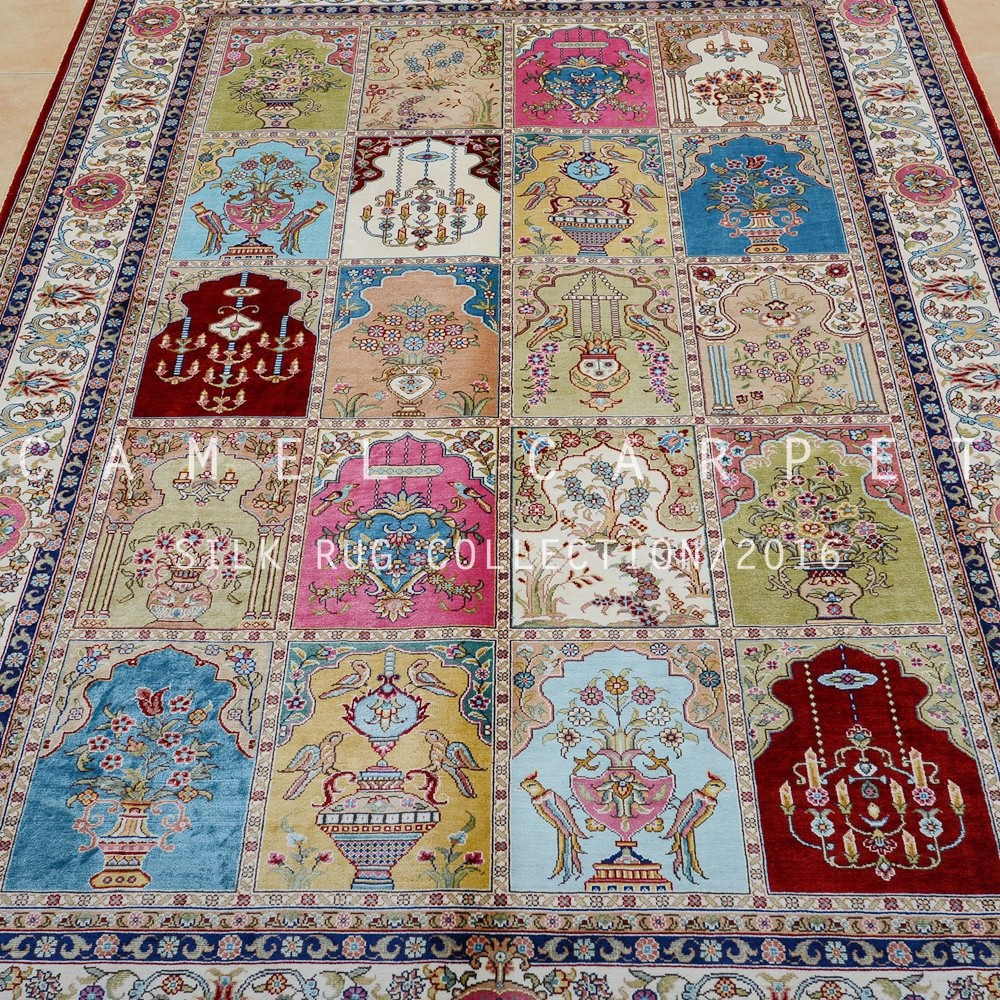 Hanging Rugs Persian Rugs And Carpets Silk Hand Knotted Islamic Wall Hanging