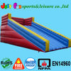 customized zorb ball track inflatable dry slide for fun