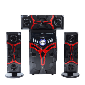 Active 3.1 channel home theatre system home subwoofer dj sound system with BT USB FM funtion