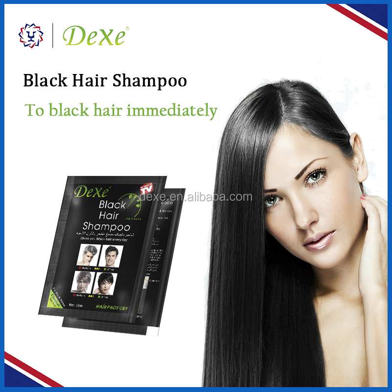 no fade useful convenience hair black shampoo / hot salep for supermarket beauty store