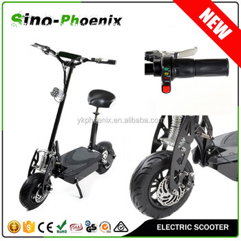 "Sino-phoenix ce 1600w brushless motor electric scooter with 12"" off-road tire ( PES02-1600W )"