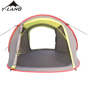 Automatic camping hiking camping tent ship type tent for picnic