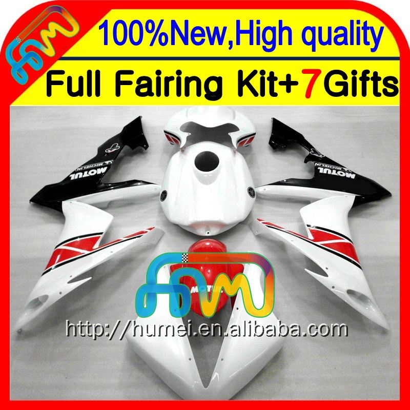 Race! red white Body For YAMAHA YZFR1 04-06 04 05 06 YZF 1000 CL10161 Red black YZF R1 YZF-R1 2004 2005 2006 YZF1000 Fairings