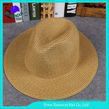 Unisex estate fahsion carta paglia cappello per il sole personalizzata cappello  panama ecuador 50d0978f562a