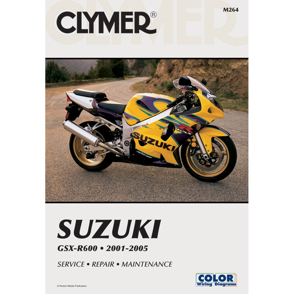 Get Quotations · 2001-2005 Suzuki GSXR 600 Clymer Repair Manual