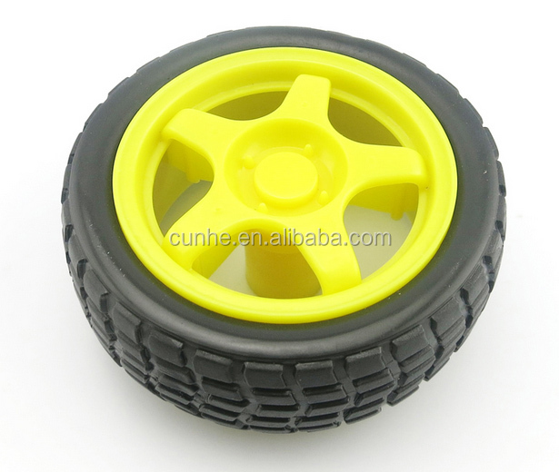 Molded plastic toy wheels with EN71 test report