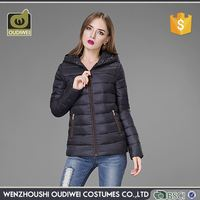 High end attractive style women down jacket for sale