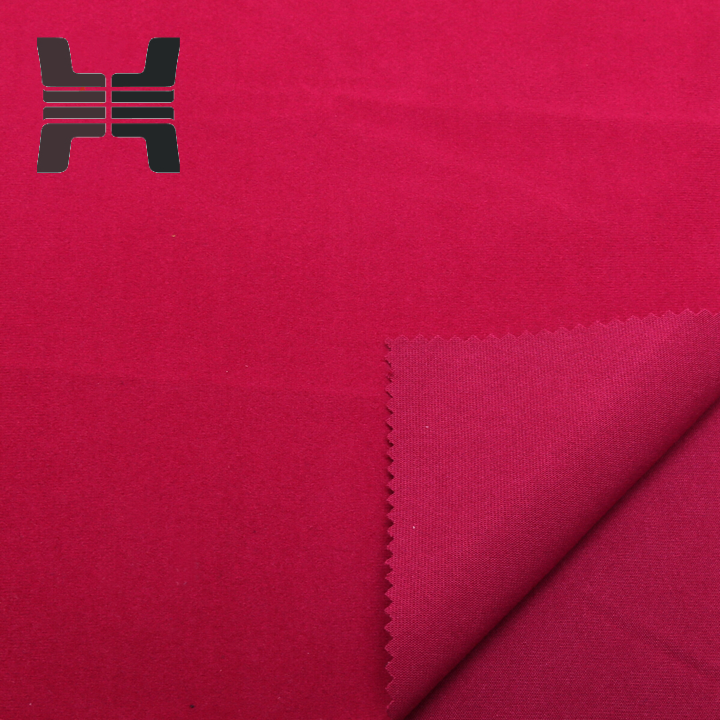 100% Polyester High Quality Mercerized Velvet Fabric/Tricot Brushed For Garment Wear