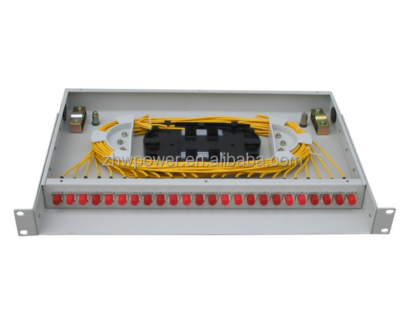 24 cores Fiber optic patch panel ,48 cores fiber distribution panel vailable in rack mounted or wall mounted