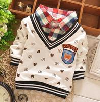 Alibaba fashion children tops spring/autumn/winter long sleeve kids fashion boy's t shirt