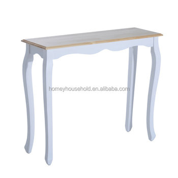 French Style Living Room Furnitures Art Deco Wood Console Table