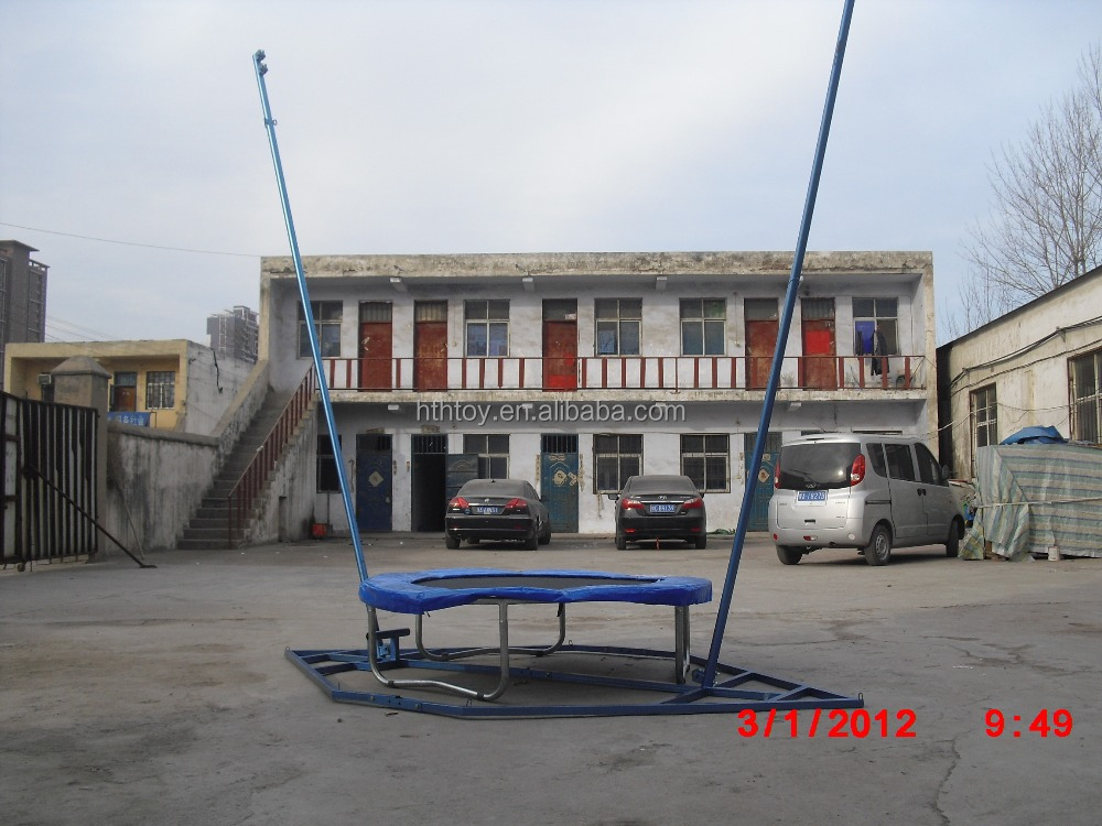 Discounted commercial single bungee trampoline price