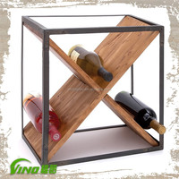 Wood wine display cabinet, wine rack
