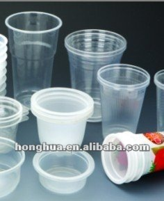 Disposable Plastic cup making machine PP PS PET