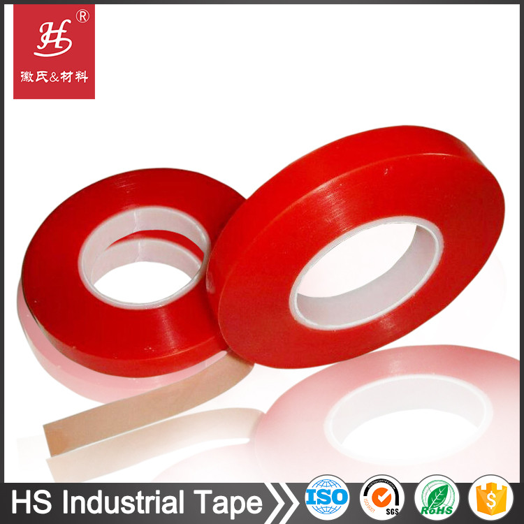 ISO14001& 9001 Certified Quick Stick Transparent Acrylic Double Sided PET Tapes