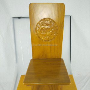 wood dragon carving dragon boat seat