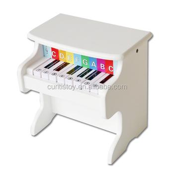 Pequeños Oud Madera Blanco 18 Musical Regalo Los Niños A De Clave Pulido Cumpleaños Granel Instrumento Piano Juguetes 54jLAq3R
