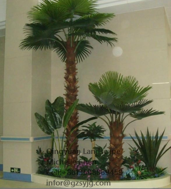 Professional Indoor Home/shop/hotel Decorative Coconut Palm Tree ...