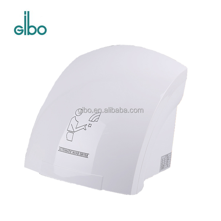 GIBO CE automatic hand dryer for bathroom in hotel,hospital,shopping mall