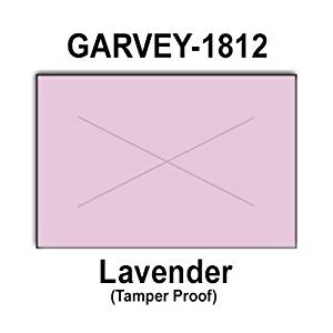 280,000 Garvey 1812 compatible Lavender General Purpose Labels to fit the G-Series 18-5, G-Series 18-6, G-Series18-7 Price Guns. Full Case + includes 20 ink rollers.
