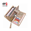 New fashional women genuine pu leather wallet