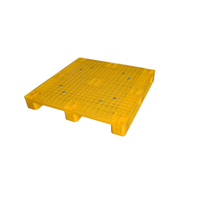 popular solid top plastic pallet and warehouse solid deck pallet