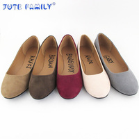 Cheap New Style Leather China Factory Women Ballerina Flat Shoes