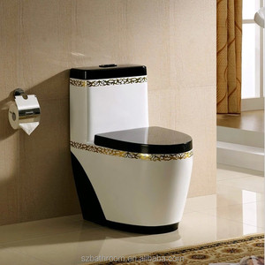 European Standard Style Gold Color Hot selling toilet