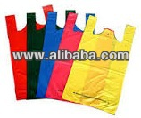 Colorful Plastic T-shirt Bag