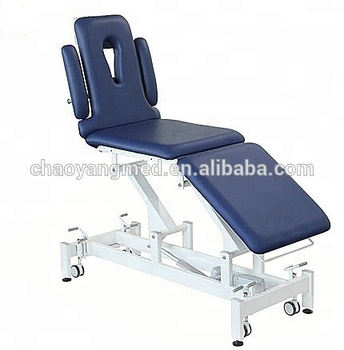New Products 5 Section Hi Low Electric Facial Bed Used