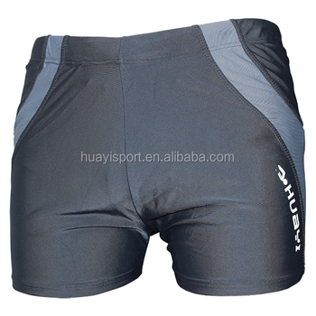 Professional huayi brand custom design water sportswear mens swimwear swimming trunks boardshorts